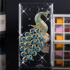 Luxury 3d case For Sony Xperia C S39h,Crystal Bling Case Rhinestone Cover For Sony Xperia C S39h C2305 C2304 Cases #clothing,#shoes,#jewelry,#women,#men,#hats,#watches,#belts,#fashion,#style
