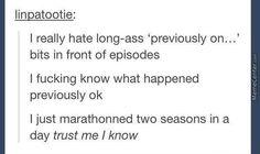 I really hate...