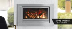 Gas Log Fireplace, Installation - Sydney Home Energy Solutions Penrith Fireplace Heater, Gas Fireplace Logs, Gas Logs, Electric Fireplace, Air Return, Alfresco Area, Log Fires, Open Fires, Make Time