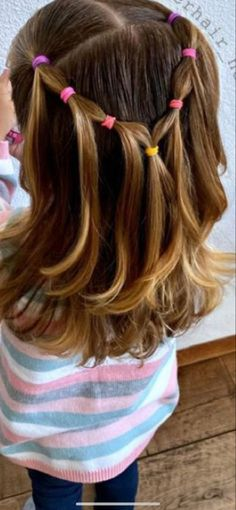 Girls Hairdos, Lil Girl Hairstyles, Nova Hair, Biracial Hair Care, Crazy Lipstick, Easy Toddler Hairstyles, Belem, Hair Dos, Hair Inspiration