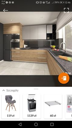 p/kuchn-ia - The world's most private search engine Kitchen Room Design, Modern Kitchen Cabinets, Kitchen Cabinet Design, Modern Kitchen Design, Home Decor Kitchen, Interior Design Kitchen, Diy Kitchen Storage, Design Moderne, Cuisines Design