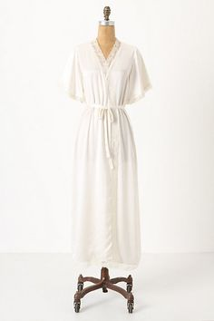 Another one of those bits of lingerie that made me gasp with longing when I saw it. Manon robe from Anthropologie. $198.