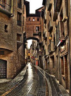 Rainy Day, Huesca, Spain