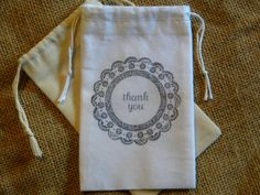 Hey, I found this really awesome Etsy listing at https://www.etsy.com/listing/152888532/24-wedding-favor-bags-muslin-3-x-5-thank