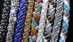 Half tila or rulla twisted herringbone necklace or bracelet desi ...