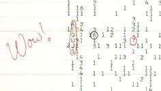 Han pasado casi 4 décadas desde que la recibimos, y no hemos vuelto a registrar nada similar. ¿Qué produjo la señal Wow!? Por ahora es un misterio... #astronomia #ciencia