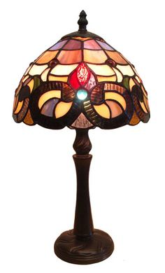 Shop Fine Art Lighting Ltd. Tiffany Mini Table Lamp at Lowe's Canada. Find our selection of table lamps at the lowest price guaranteed with price match. Brown Table Lamps, Table Lamp Sets, Pink Beige, Fine Art Lighting, Lighting Ideas, Bankers Lamp, Tiffany Table Lamps, Window Panels, Drum Shade