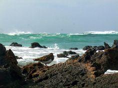 El Cotillo, onde dell'Atlantico