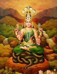 Kala Kshetram, Manasa by Artist Sabapathy Shiva Hindu, Hindu Deities, Shiva Art, Hindu Art, Shiva Shakti, Krishna, Saraswati Goddess, Indian Goddess, Goddess Lakshmi