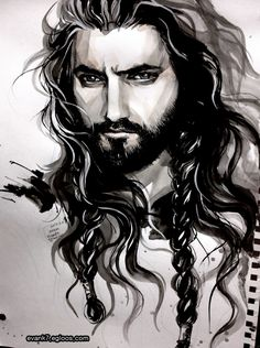 evan's artworks : The Hobbit : Thorin