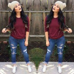 Girl Fall Outfit Idea 9 fall outfits for teen girls georgiarose musely Girl Fall Outfit. Here is Girl Fall Outfit Idea for you. Girl Fall Outfit cute fall outfits ideas for toddler girls 11 fashion best. Mode Outfits, Casual Outfits, Fashion Outfits, Womens Fashion, Fashion Trends, Outfits 2016, Teen Fashion, Casual Styles, Fashion Killa