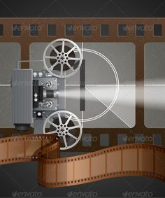 Illustration with Movie Projector #GraphicRiver Illustration with vintage movie projector, EPS 10, contains transparency, light created with mesh. Created: 21August13 GraphicsFilesIncluded: VectorEPS Layered: Yes MinimumAdobeCSVersion: CS Tags: animation #background #beamer #camcorder #camera #canister #cinema #cinematography #classic #countdown #counter #entertainment #equipment #film #footage #frame #movie #number #old #picture #projection #projector #reel #retro #show #strip #technical…
