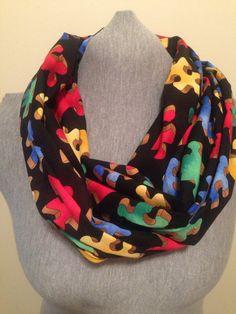 Autism Infinity scarf on Etsy, $15.00