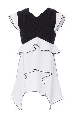 Proenza Schouler Black and White Dress