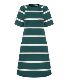 Woven Stripe Raglan Dress by Etre Cecile French Outfit, Cecile, Raglan, French Fashion, Dresses For Sale, Fashion Online, Short Sleeve Dresses, Fashion Outfits, Stuff To Buy