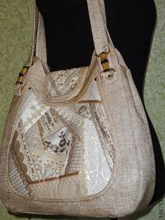 "сумочка "" Абстракция "" - золотой,лен,летняя сумка,крэйзи,лоскутная сборка"