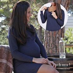 Empezamos el año con una gran sonrisa! #ropaparaembarazadas #ropapremama #premama #modaparaembarazadas #modapremama #embarazada #embarazo #maternidad #maternitywear #mama #pregnant #lactancydress #vestidolactancia #ohma #ohmastyle #lookohma #lactancia #pregnancy #ohmabarcelona
