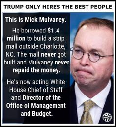 Republican Money Management (Theft) Chief Of Staff, Political Views, Deceit, Republican Party, Greed, Good People, Donald Trump, Acting, Politics