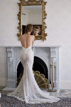 Backless lace embellished Cassandra Renee gown. Images by Sephory Photography #styledshoot #weddingdress #weddinggown #bridalgown #bridaldesigner #weddingfashion #weddingstyle #backlessweddingdress