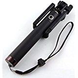 Christmas deals week  Camkey Black Self-portrait Handheld Monopod Pole Extendable Selfie Stick Wireless built-in Bluetooth Remote Shutter... sale