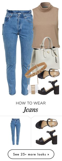 """Untitled #1914"" by erinforde on Polyvore featuring Vetements and Prada"