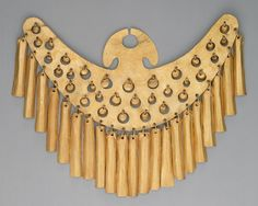 Nose Ornament Date: century Geography: Colombia Culture: Calima (Yotoco) Medium: Gold Dimensions: H. Ancient Jewelry, Antique Jewelry, Gold Jewelry, Colombian Art, Art Ancien, Mesoamerican, Roman Art, Inca, Ancient Artifacts