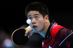 Day 1:  Table Tennis - Men's Singles - Andre Ho of Canada