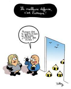 La meilleure défense, c'est l'attaque http://vidberg.blog.lemonde.fr/2015/01/08/la-meilleure-defense-cest-lattaque/ #jesuischarlie