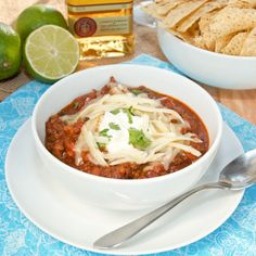 Sweet Pea's Kitchen » Slow Cooker Tequila Lime Chili