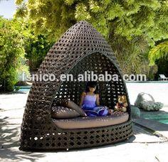 outdoor cabana furniture bed