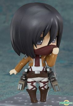 Nendoroid : Attack on Titan Mikasa Ackerman #nendoroid #attackontitan
