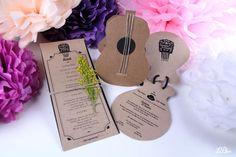 Invitación flamenca #invitacionedebodas #invitaciones #bodas #leblue