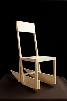 Chair from The Life and Death of Marina Abramovic , 2011. Designed by Robert Wilson