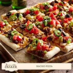 Change things up for Cinco de Mayo with our recipe for crispy Nacho Pizza