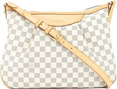 •Website: http://www.cuteandstylishbags.com/portfolio/louis-vuitton-beige-damier-azur-siracusa-mm/ •Bag:  Louis Vuitton Beige Damier Azur Siracusa MM