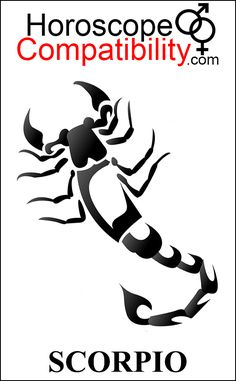 Scorpio Zodiac Sign Symbol - Astrological compatibility matters. What's your…