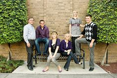 Family Portrait Color Scheme @Joe Farnsworth