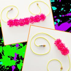 #LUVIT 😍 Neon LUVer 4 life! 💖 Neon Pink Rose Full and Side Flower Crowns - ADD Silver Diamond Dust for sparkle and Tie Band Color is customizable too! 🌹 Available at KittyKatrina.com in our Rose and Side Flower Crown Sections 😘 #neon #neonhair #neonpink #blacklightparty #flowercrown #flowercrowns #floralcrown #floralheadband #flowerheadband #raver #ravecostume #raveoutfit #ravewear #ravefashion #festivalfashion #festivalstyle #festivaloutfit #festivalwear #edmstyle #edmfashion