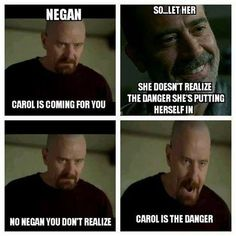 Carol, Morgan rosita and Sasha
