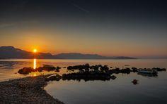 Sunset in Trogir, Hr