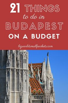Budapest isn't just great for the culture vibes and architectural diversity, it's also great for budget travellers too with some of the cheapest prices of any capital on the continent...