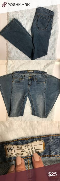 Free People Flare Jeans Size 24 Good condition. No flaws. All offers welcome! 💕 Free People Jeans Flare & Wide Leg