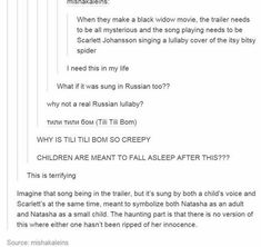 """This is the link to the song, """"Tili Tili Bom"""" and it is much more fitting than the """"Isty Bitsy Spider"""": https://m.youtube.com/watch?v=BDMmj5WgB8c"""