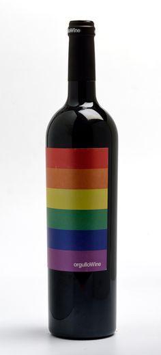 Botella de #OrgulloWine #vino #BeFree (pineado por @OrgulloWine)