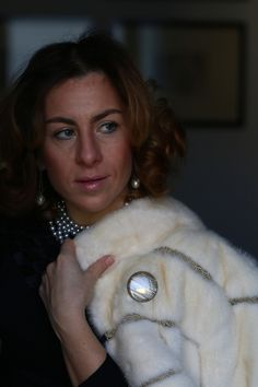 follow #TheItalianGlamdiaries fashion stories chanel 19 by The Italian Glam #fur #pearls