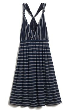 cute dress just dont know id the stripes would look good on me or not!