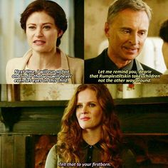 "Belle, Rumple and Zelena - 6 * 8 ""I'll be your mirror"""