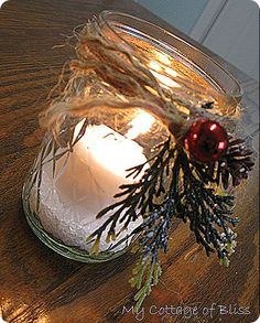 My Cottage of Bliss: Christmas By Candlelight