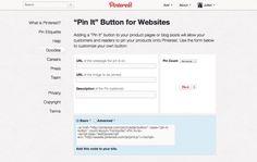 Comment ajouter un bouton Pinterest «Pin it» sur son site et augmenter considérablement son trafic.