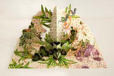 Bozka Creates Enchanting Illustrations And Pop-Up Art Of Dream-Like Ecosystems